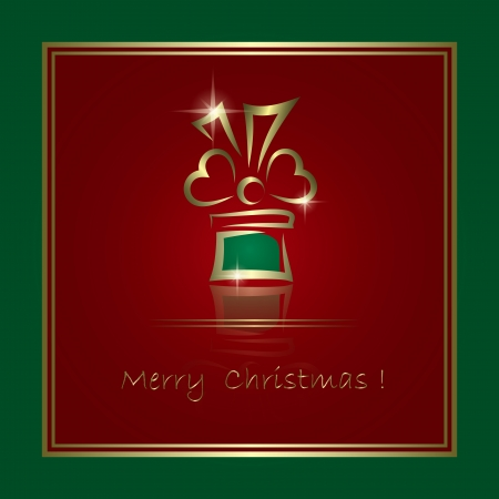Christmas card Stock Vector - 15206381