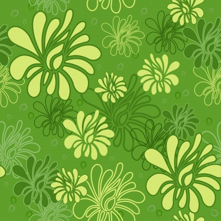 textile background: Floral seamless pattern