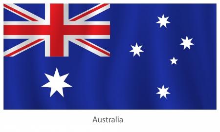 Australia flag Stock Vector - 20285809
