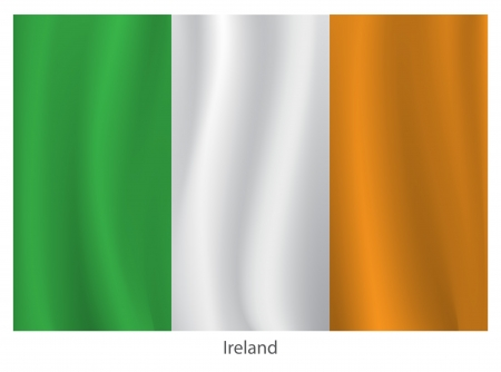 Ireland flag Stock Vector - 20285798