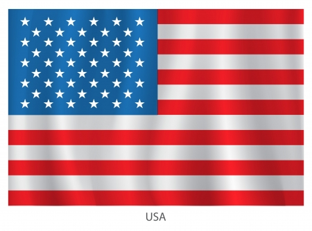 inauguration: American flag for Independence Day
