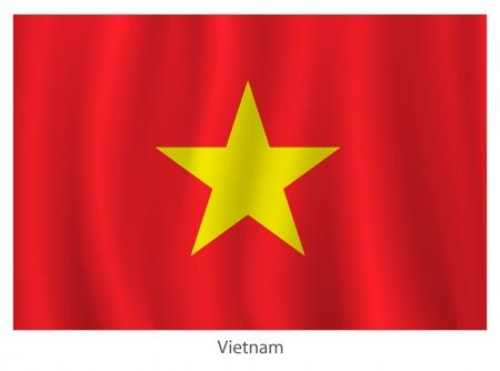 vietnam flag: Vietnam flag