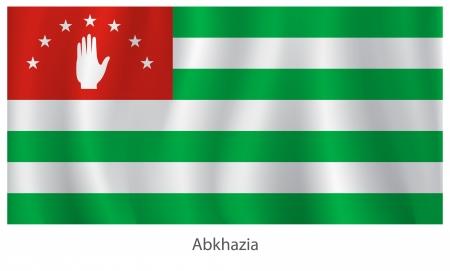 abkhazia: Abkhazia flag with title