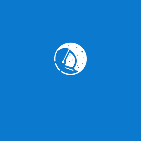 astronot logo vector illustration Çizim