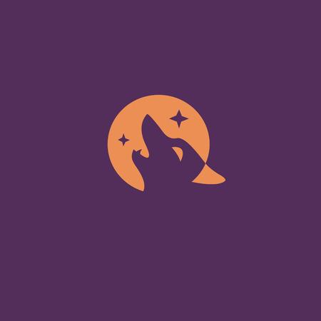 wolf  logo vector illustration Illustration