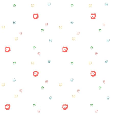 pattern with skull and bones, seamless halloween background