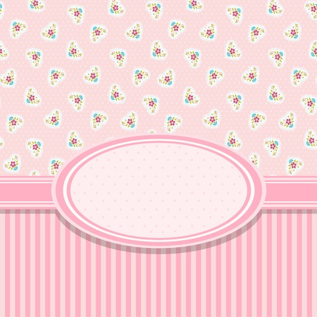 lovely girl: Invitaci�n de la tarjeta rosa para baby shower, boda o fiesta de cumplea�os