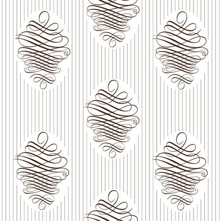 Seamless delicate veil-like pattern.