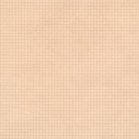 hoja cuadriculada: Antiguo fondo de cuadr�cula de cuadrados de sepia papel milimetrado.