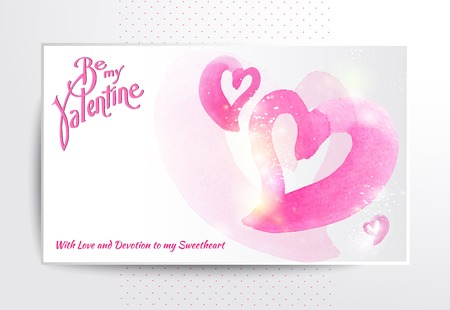 Happy valentines day and weeding cards. Vector