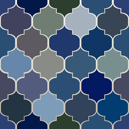 Ornamental pattern. Seamless Moroccan background.