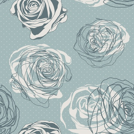 Vector seamless background. Retro. Vintage style. 向量圖像