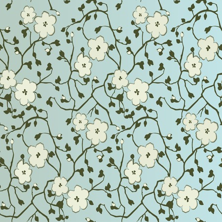 Seamless floral pattern.  向量圖像