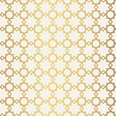 white wallpaper: Abstract seamless geometric pattern. Monochrome white wallpaper. Geometry gold grid texture. Vintage style texture.Vector illustration