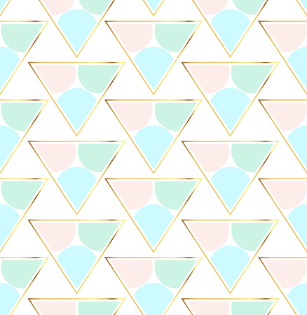 Trendy geometric pattern, textured abstract background for brochure, flyer or presentations design, vector illustration. Minimalistic design.
