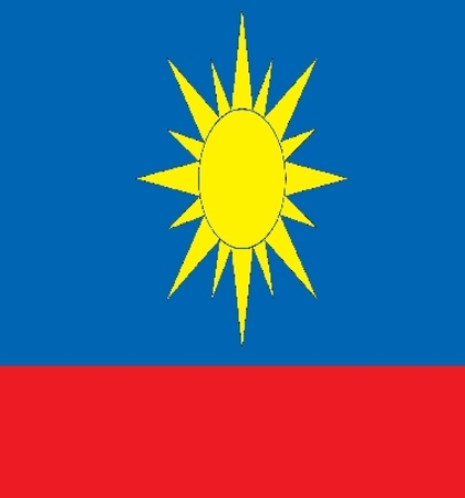 Various flags, state symbols, emblems of countries, regions, prefectures, counties, islands, and others from around the world.