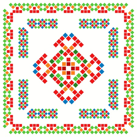 bulgarian: Ethnical abstract ornament