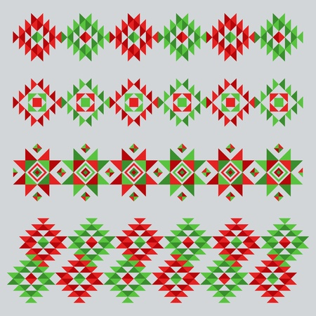 Ethnical abstract ornament Vector