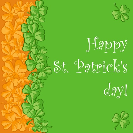 St. Patricks day theme Vector