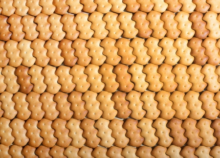 goldish: goldish background from a cracker Stock Photo
