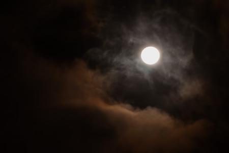 Moonlight, blood moon , october 2014 photo