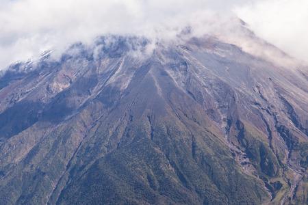 tungurahua: Powerful Day Explosion Of Tungurahua, South America Stock Photo
