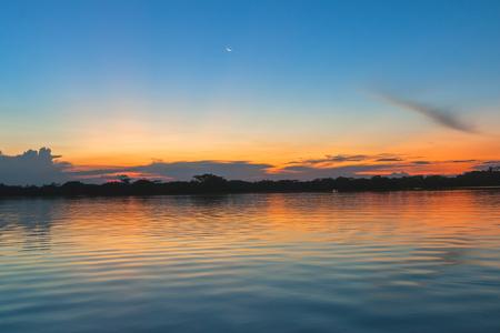 laguna: Laguna Grande, Cuyabeno Wildlife Reserve, South America