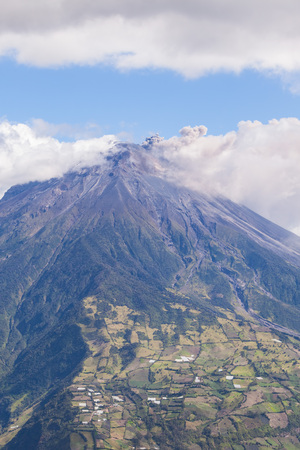 Tungurahua Is One Of South Americas Most Active Volcanoes