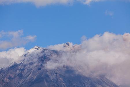 strombolian: Tungurahua Volcano Explosion In Ecuador, South America