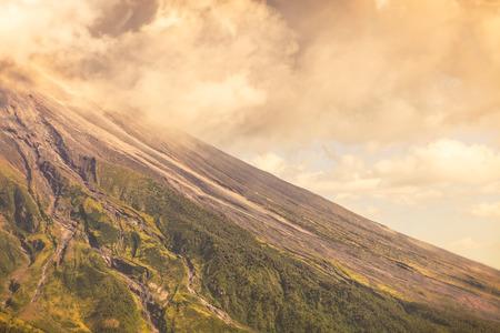 tungurahua: Close Up Of Tungurahua Volcano Day Explosion, South America Stock Photo
