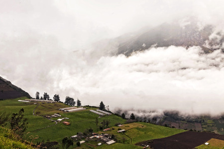 tungurahua: Powerful Day Explosion Of Tungurahua, Ecuador, South America