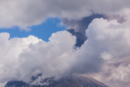 tungurahua: Tungurahua Is Located In The Cordillera Oriental Of Ecuador, South America