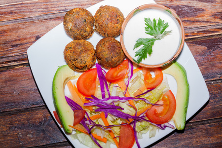 grew: Falafel Grew To Become A Common Form Of Street Food Or Fast Food In The Middle East.
