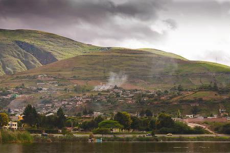columbian: Landscape View Of Columbian Village, South America