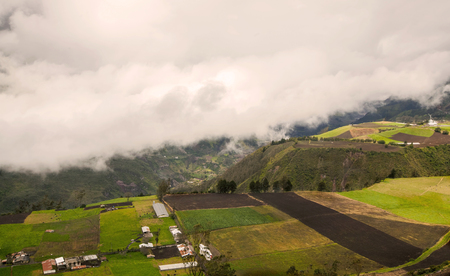 tungurahua: Tungurahua Volcano, Powerful Explosion, Aerial View In South America