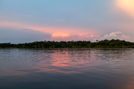 navigable: Cuyabeno Wildlife Reserve Is The Only Amazon Park Close To The Andes With A Dense Network Of Beautiful Lakes And Navigable Creeks