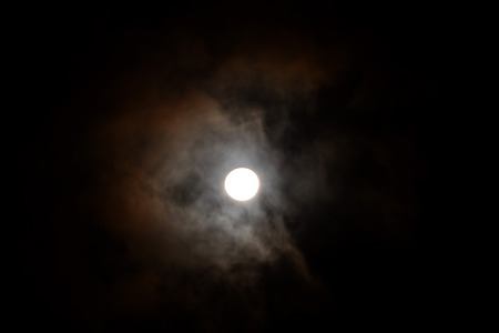 opposition: Full Moon, Moon When The Whole Of Its Disk Is Illuminated, Occurring When In Opposition To The Sun