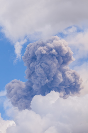 eruptive: Tungurahua Activity Has Been Characterized By Frequent Powerful Ash Explosions, Producing Ash Plumes Of Several Kilometers Height As Well As Dangerous Pyroclastic Flows