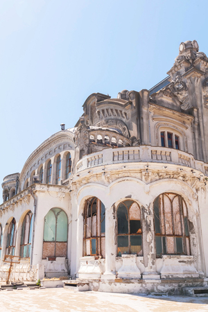summerhouse: Close Up Of The Constanta Casino Building, Romania, East Europe