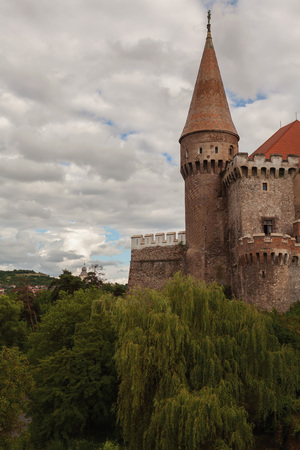 top seven: Corvin Castle, Is One Of The Largest Castles In Europe And Figures In A Top Of Seven Wonders Of Romania