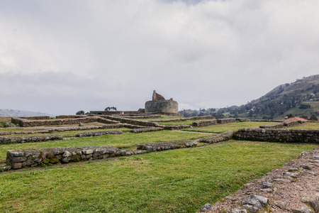 The Most Significant Building In Ingapirca Ruins Is The Temple Of The Sun, An Elliptically Shaped Building Constructed Around A Large Rock