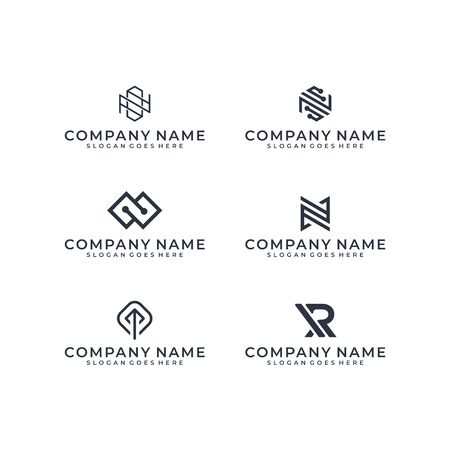 Logo design bundle inspiration Logó