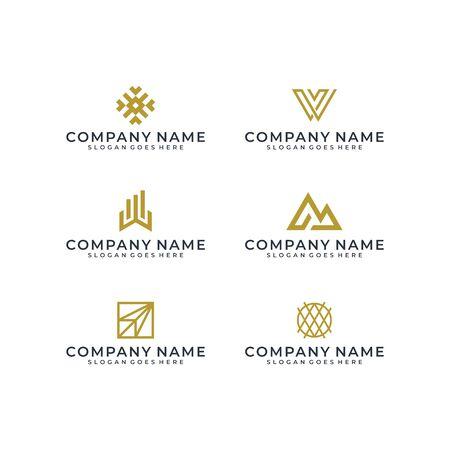 Logo design bundle inspiration