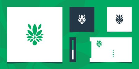 Logo designs that contain logo and business card design s that can be used everywhere