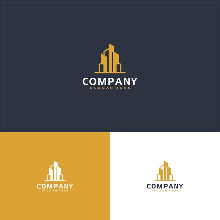 Here we go with fresh modern logo with real estate concept that suit to be placed everywhere Stock Vector - 140410574