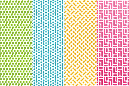 Modern pattern design that suit to be placed everywhere Illustration