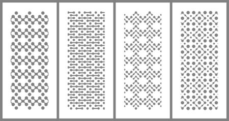Modern pattern design that can be placed everywhere