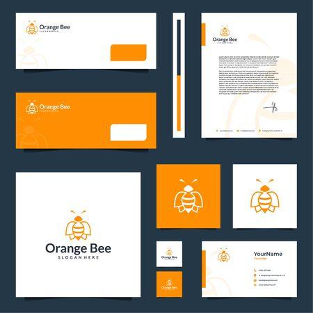 Modern elegant brand design that contain till letterhead design