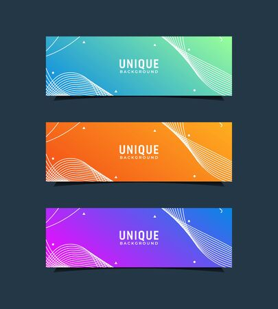 Inspirational modern background done with gradient between blue and green colors
