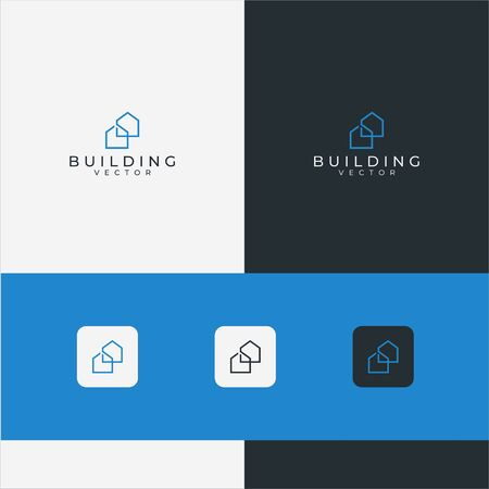 Inspirational logo design that bring real estate theme and suit to be placed everywhere